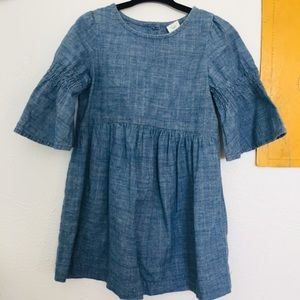 Denim Sparkle Dress
